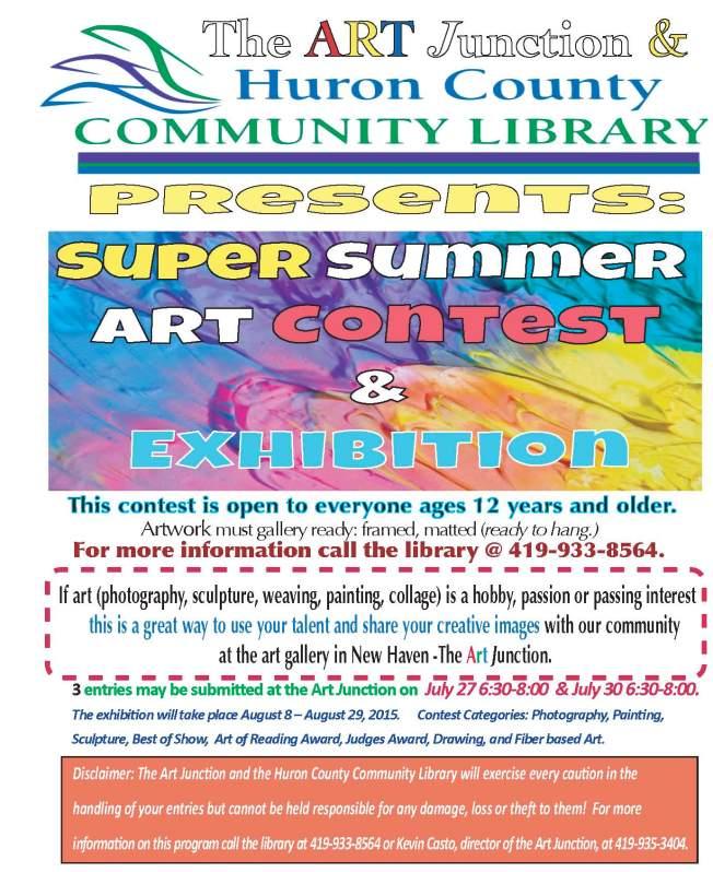 2015 Summer Art Contest