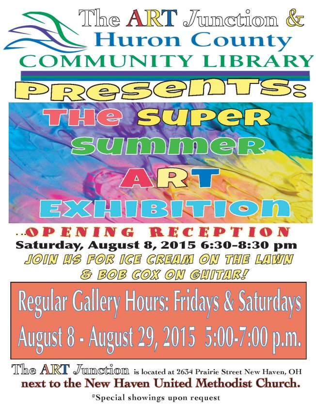 2015 Summer Art Exhibit