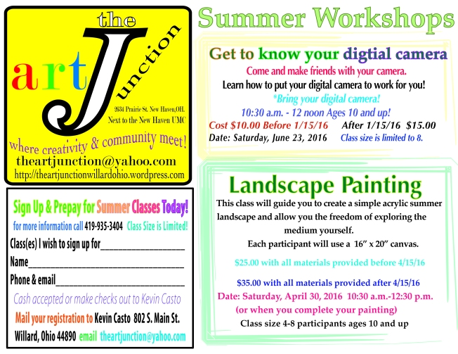 Summerworkshops'16