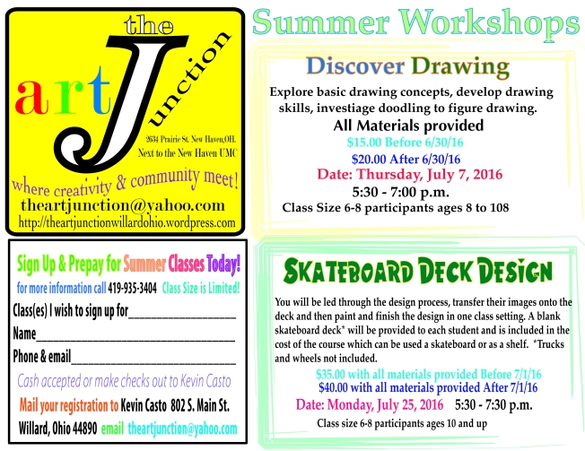 Summerworkshops2'16