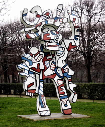 May The Fourth Be With You French: Dubuffet Sculpture
