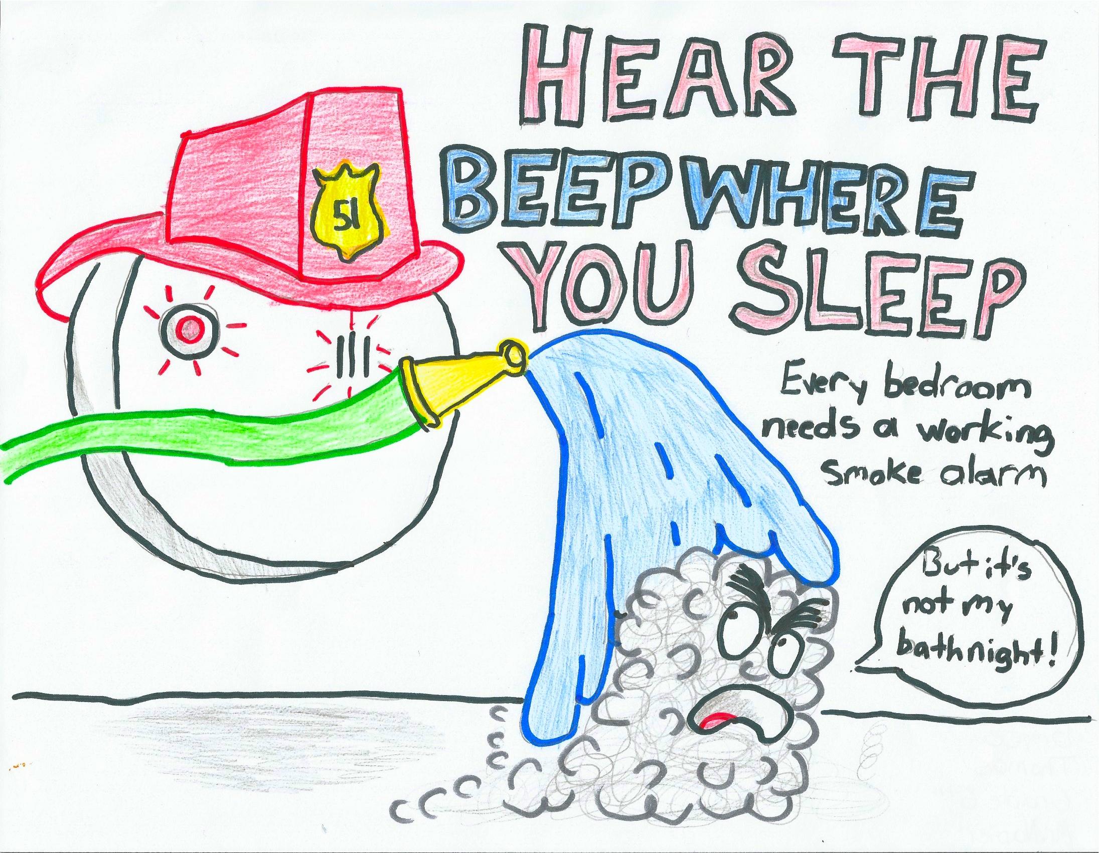 Listen Fire Safety : Fire safety poster contest artmanews