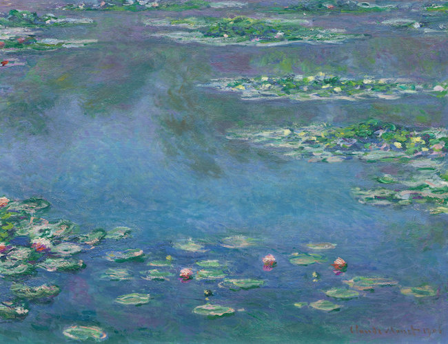 Claude-Monet-Water-Lillies-Hammers-54-Million-at-London-Impressionist-Sale